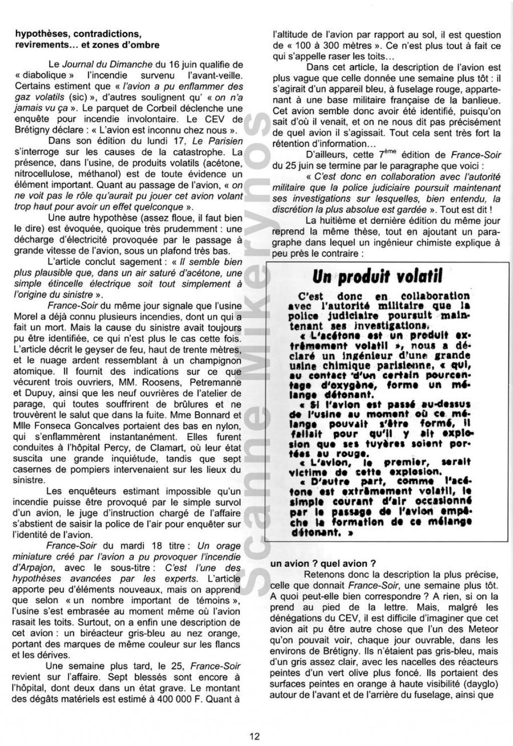Saint Germain les Arpajon  - Le 14 Juin 1963 Fr12-3095500