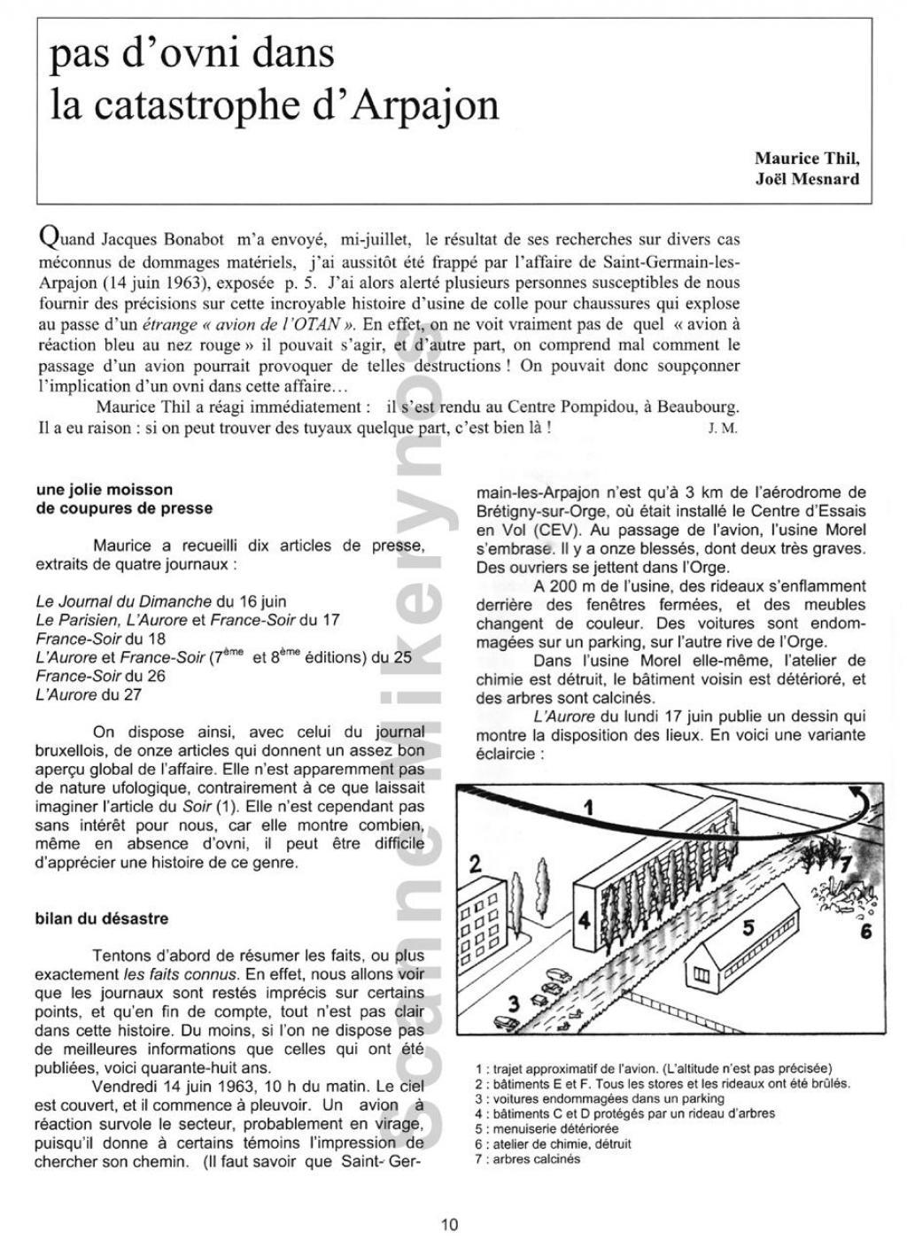 Saint Germain les Arpajon  - Le 14 Juin 1963 Fr10-30954ea