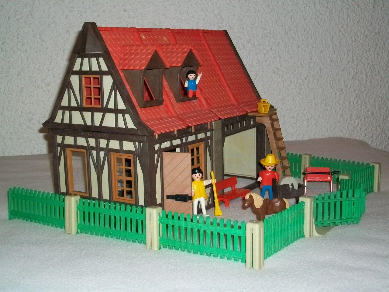 Playmobil granja comprar playmobil en todocoleccion for La granja de playmobil precio