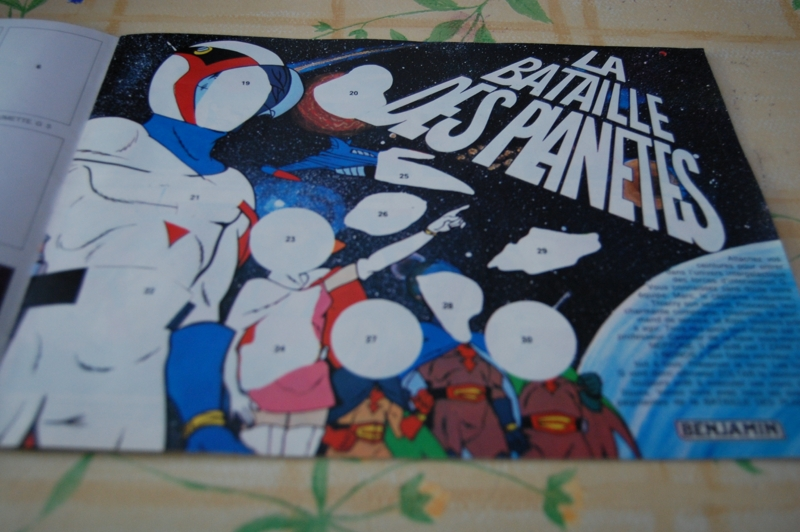 La BATAILLE DES PLANETES / GATCHAMAN... - Page 2 Gatchaman-panini-...800x600--2e3cd2a