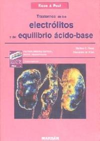 transtornos electrolitos, acido-base