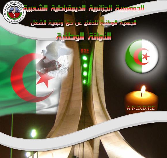 الموقع الالكتروني للامانة الوطنية للدفاع عن حق و ترقية الشغل Portail-2cc3b24